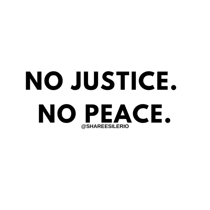 Freedom No Justice No Peace