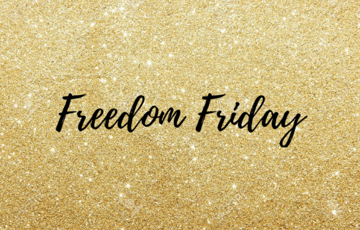 Freedom Friday Featured Image for Freedom Friday Posts on Sincerely Sharee